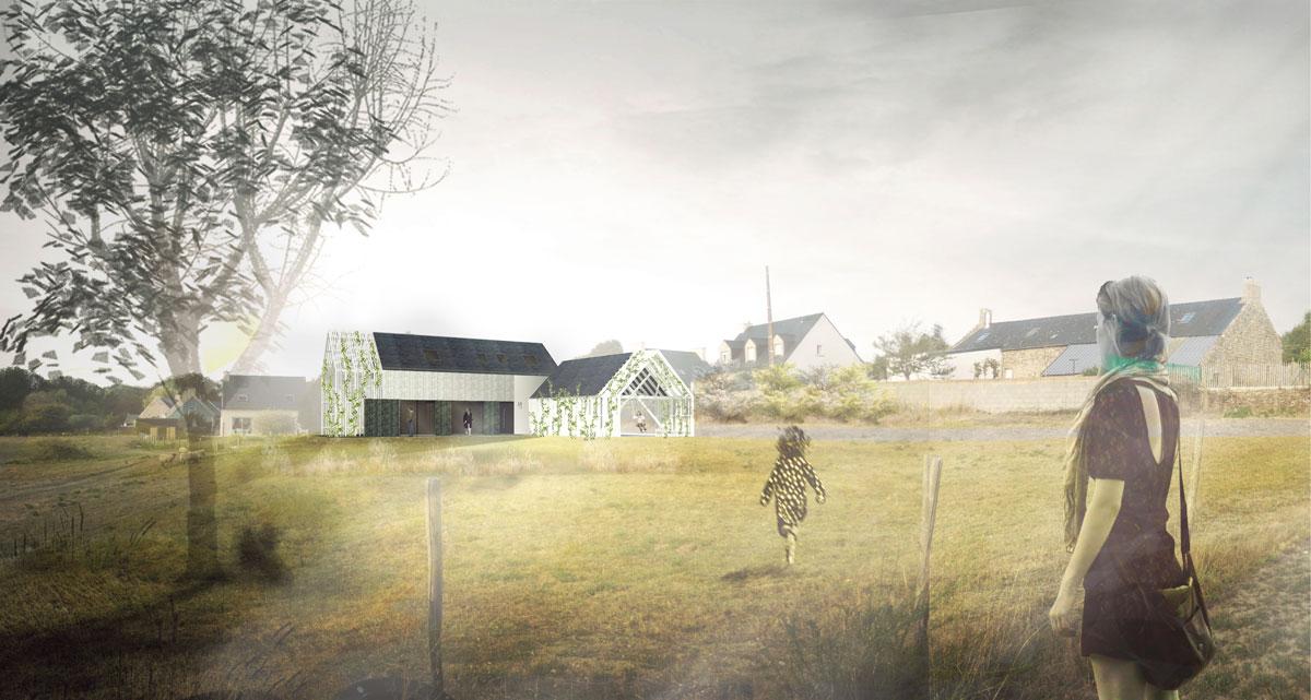 BADEN / M-CVL, construction d'une maison d'habitation