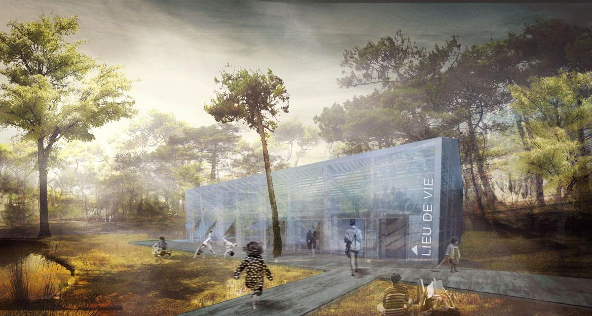 PLOEMEL / E-DLV construction d'un lieu de vie MKS Architecture