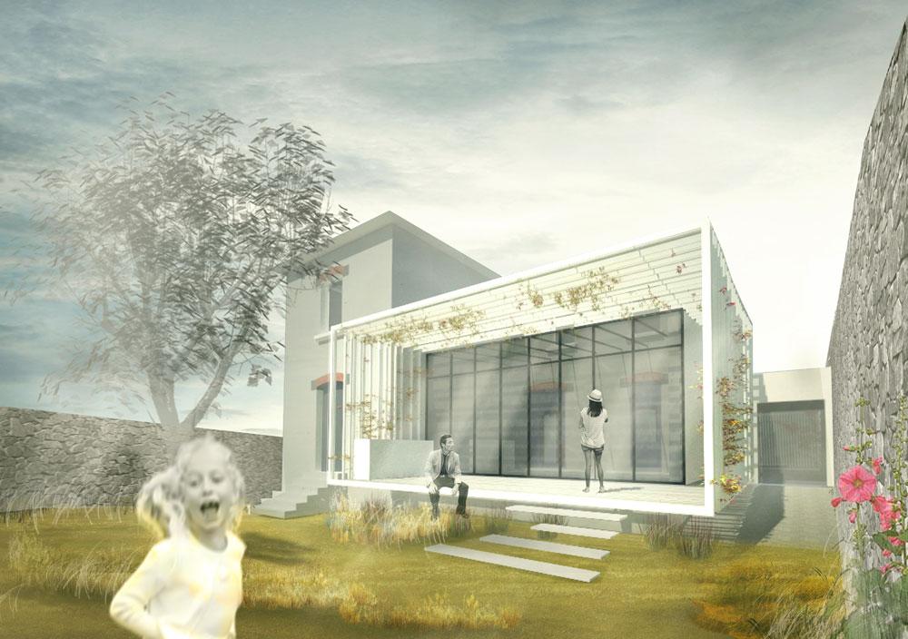 VANNES / M-LTD rénovation d'une maison existante